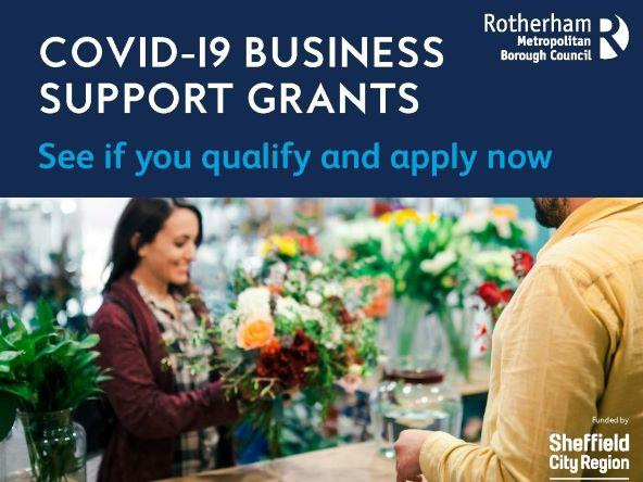 See if you qualify and apply at www.rotherham.gov.uk/covid-business-grants
