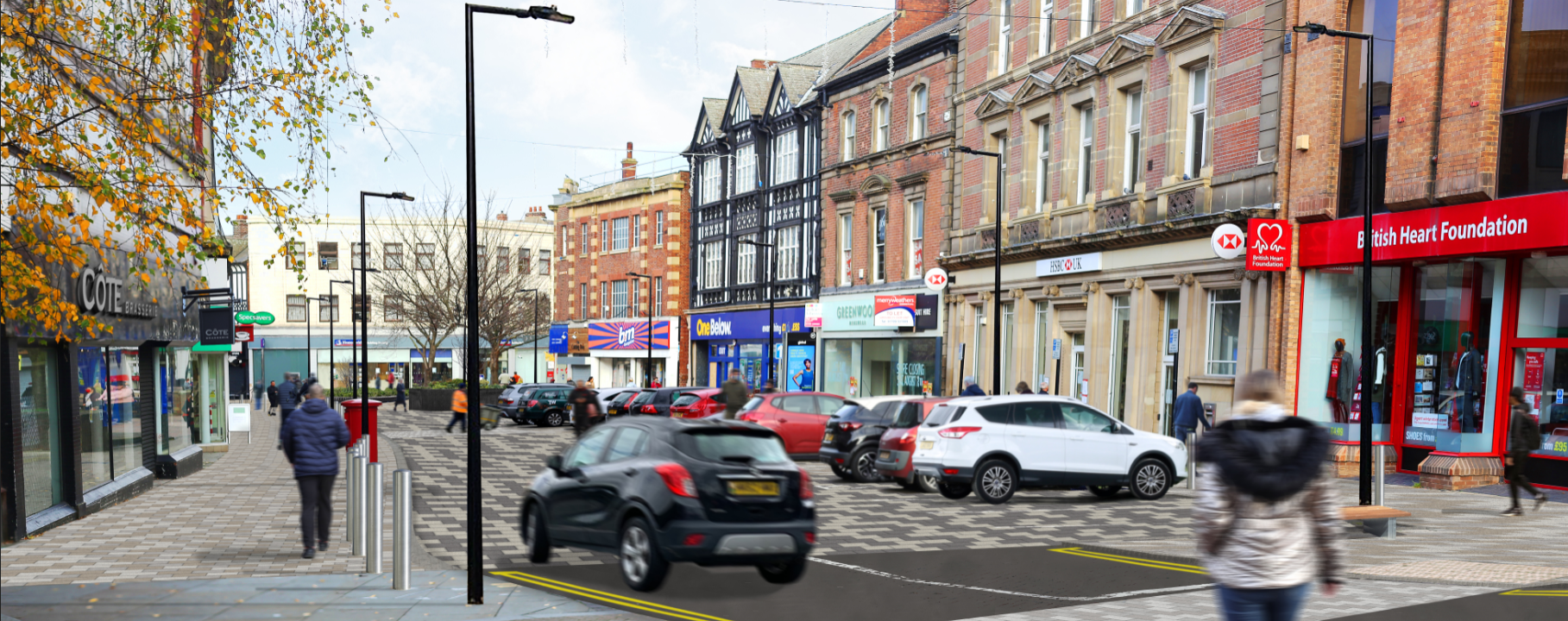 Artist's impression of College Street