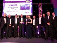Tram train scheme wins global award