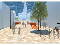 Work to start on new look town centre open spaces
