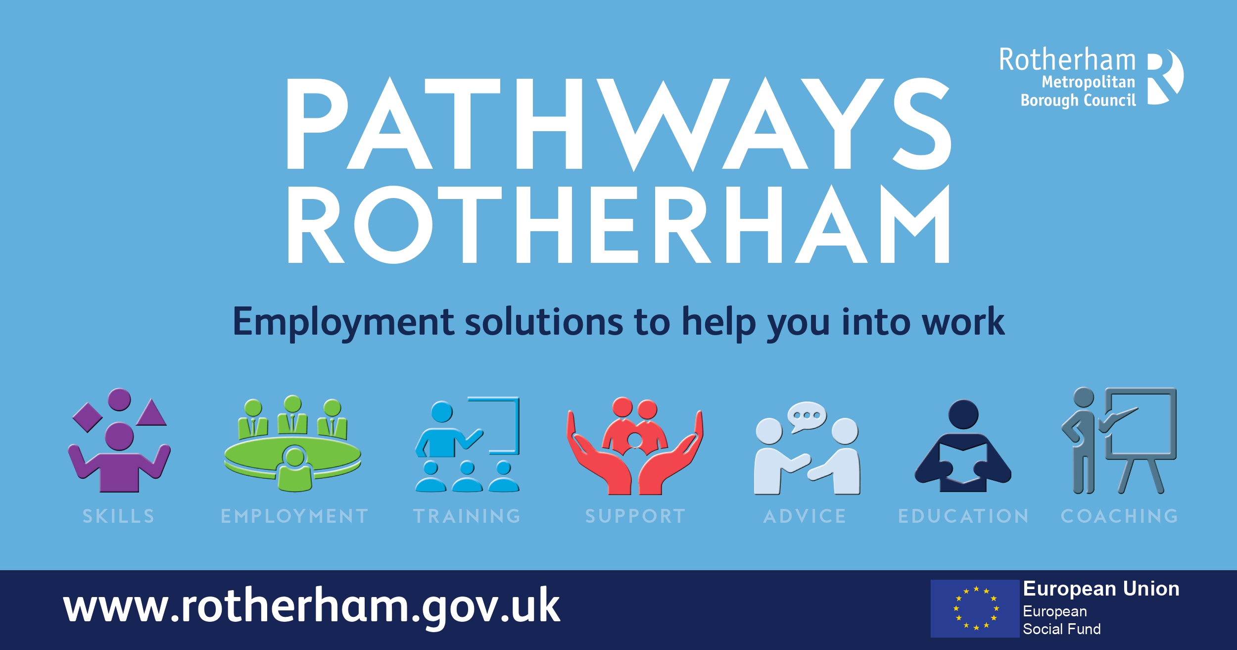 Pathways Rotherham - Skills, employment, training, support, advice, education and coaching