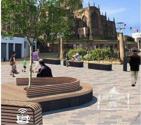 Councillors to consider plans to improve look and feel of town centre.